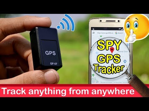 Spy GPS tracker GF-07 unboxing review