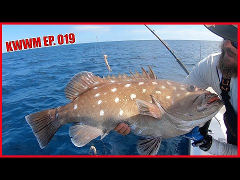 100#s Of Profit - Commercial Fishing - Deep Dropping For Snowy Grouper | Key West Waterman EP.019