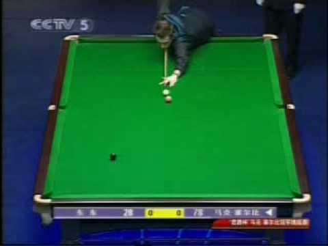 回顧2009年中央電視台CCTV-5直播(香港10歲)東東vs Mark Selby snooker表演賽片斷