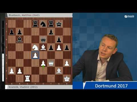 Kramnik - Bluebaum, Dortmund Chess 2017: Analysis