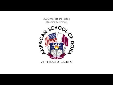 ASD International Week Opening Ceremony