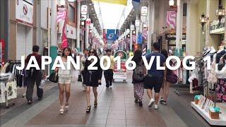 Japan 2016 VLOG 1: BJJ with Budo Jake