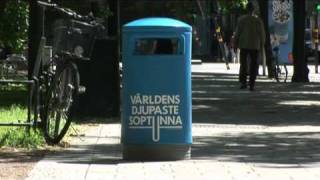 The world's deepest bin - Thefuntheory.com - Rolighetsteorin.se