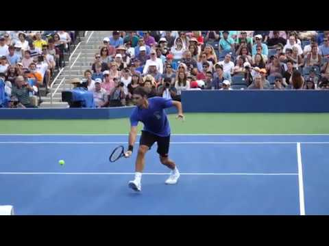 Federer Volley Slow Motion 2018 Hd Youtube