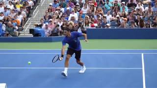 Federer Volley Slow Motion 2018 (HD)