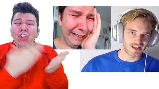 Pewdiepie comes for me (my reaction)