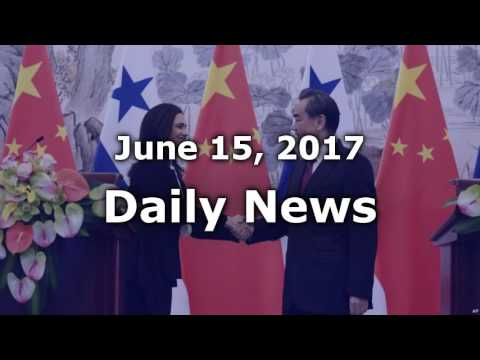Panama Changes Diplomatic Recognition to China From Taiwan