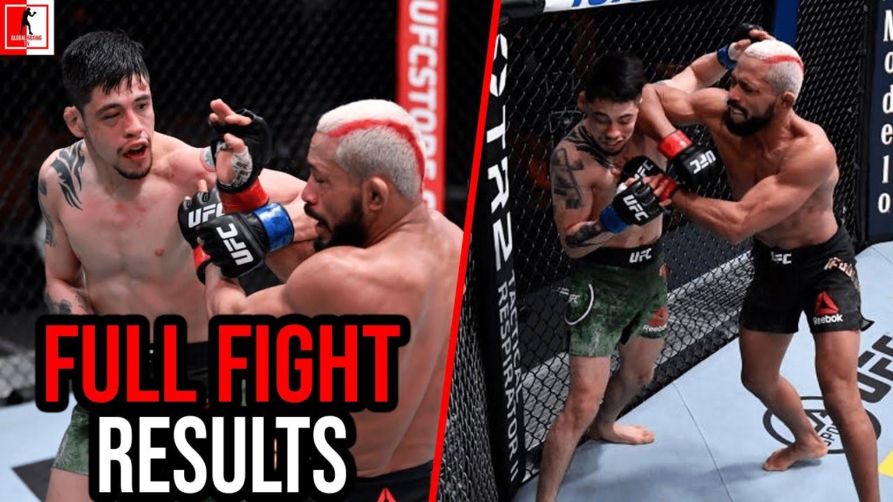 Deiveson Figueiredo Vs Brandon Moreno Ufc 256 Full Fight Results Youtube