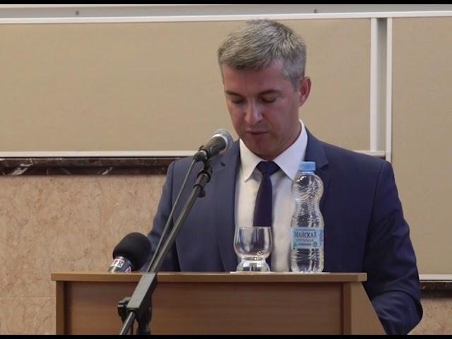 Губкинские депутаты избрали главой администрации округа Михаила Лобазнова
