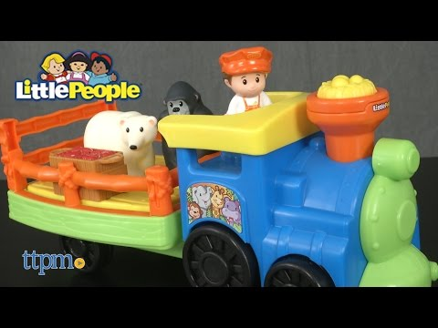 Little People Choo-Choo Zoo Train from Fisher-Price