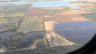 Grumman Goose flying over Colusa County