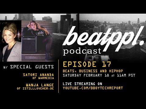 BeatPPL Podcast Episode 17 - Beats & Business w/ Wanja Lange & Satori Ananda