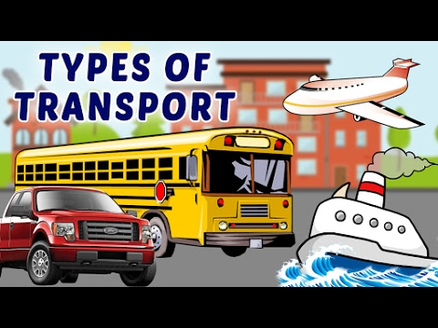 An essay on the 5 modes of transportation