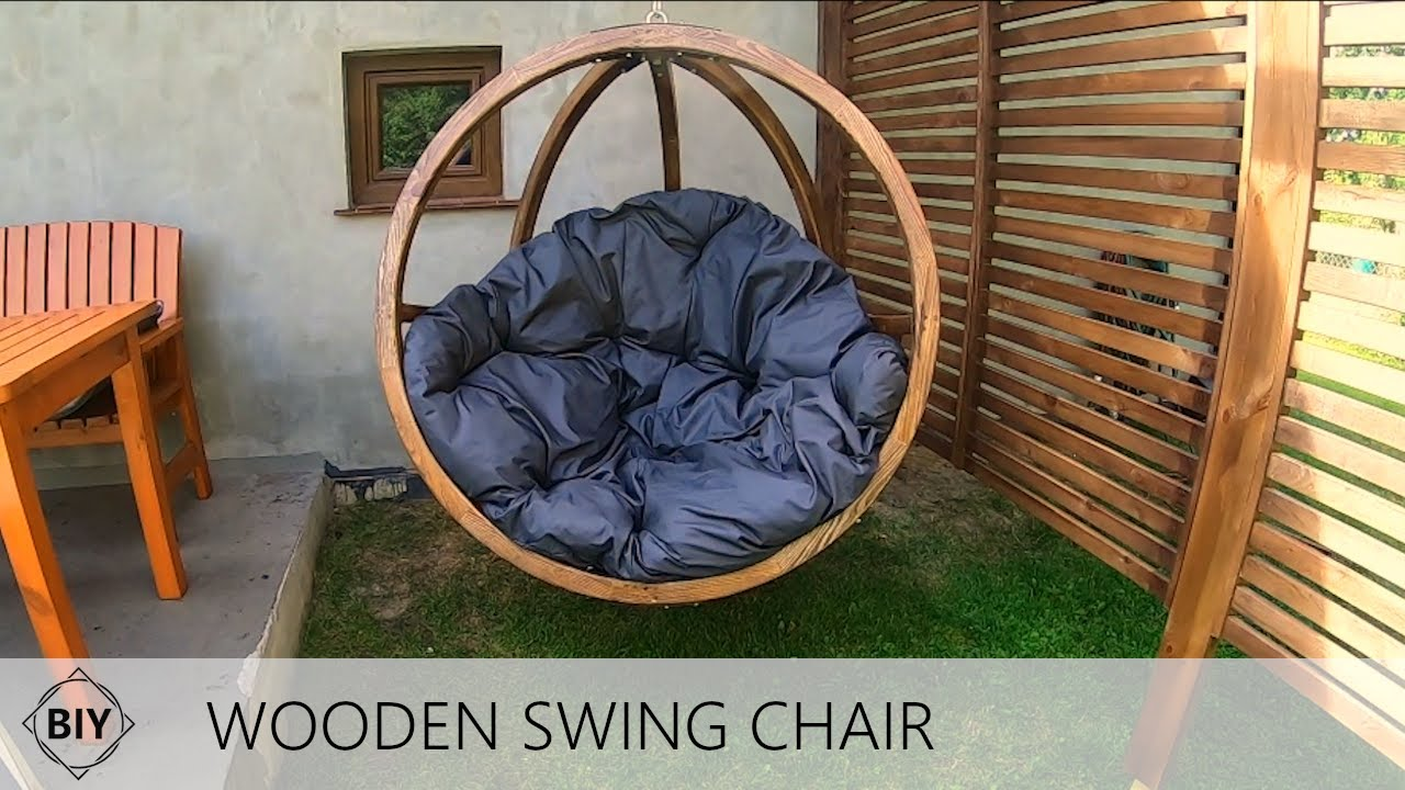 Diy Wooden Outdoor Swing Chair Wiszacy Fotel Ogrodowy Youtube