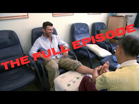 Foot Reflexology in Thailand - the FULL episode of Road Less Traveled