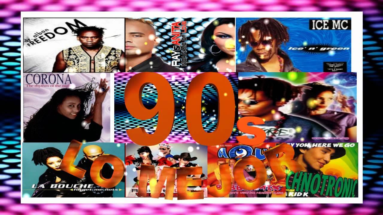 Decada De Los 90 Mix Youtube