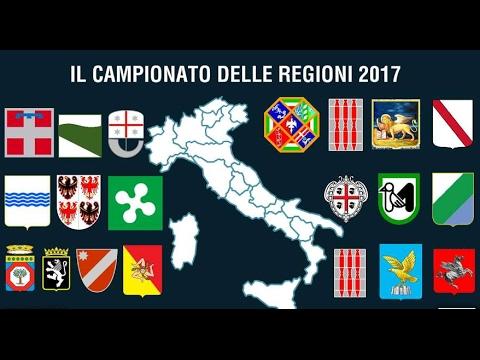 COME SAREBBE IL CAMPIONATO ITALIANO DELLE REGIONI 2017?