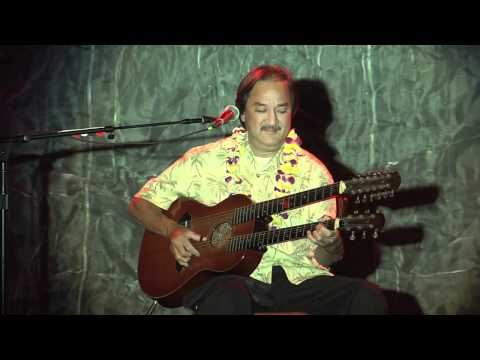 "George Kuo ""Opihi Moemoe"" Live Hawaiian Slack Key Guitar - High Quality - DreamTyme Films"