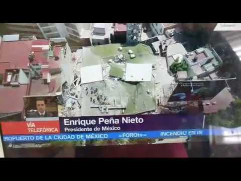 Temblor En La Cd De Puebla, Morelos Alcansando Cd De MÉXICO