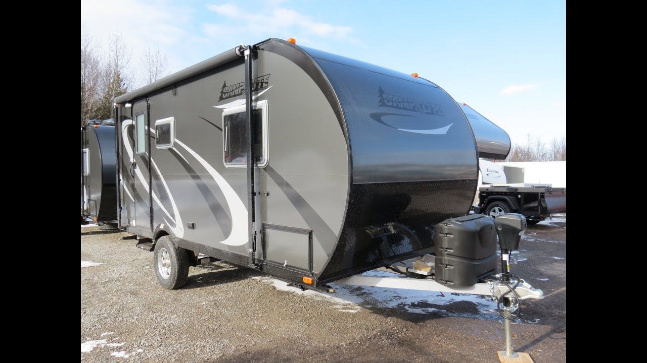 2016 Camplite 16TBS Travel Trailer by Livin Lite RV! #3717
