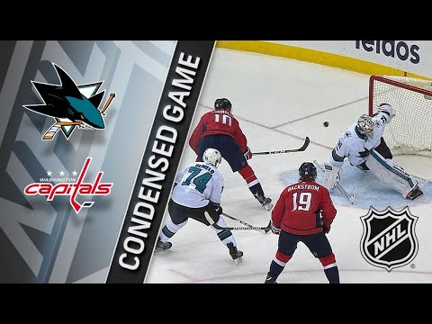 12/04/17 Condensed Game: Sharks @ Capitals