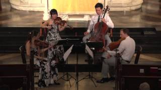 "Attacca Quartet plays Haydn Op. 33 no. 3 ""The Bird"" -- First Movement"