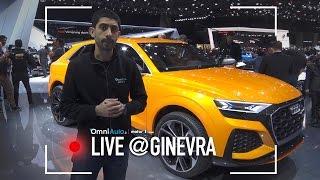 Audi Q8 sport concept | Salone di Ginevra 2017