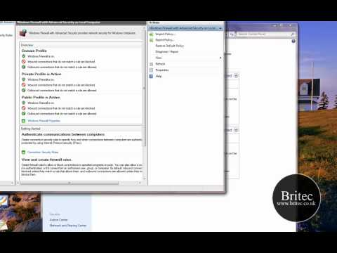 How to Open and Close a Port in Windows 7s Firewall by Britec