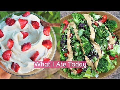 WHAT I ATE TODAY | Raw Vegan 🌿