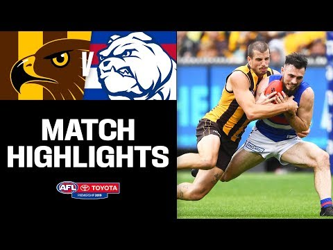 Incredible finish at the 'G | Hawthorn v Western Bulldogs Highlights | Round 2, 2019 | AFL