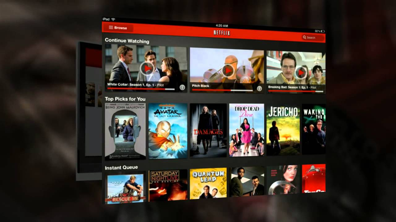 netflix for one month