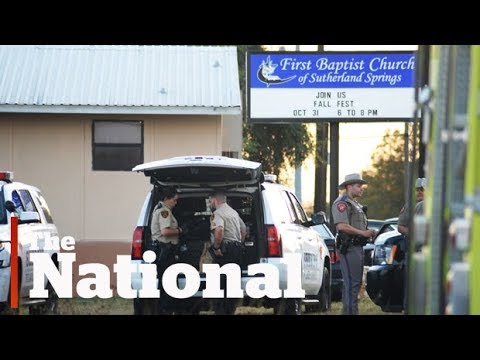 Texas shooting: Deadly church attack in Sutherland Springs