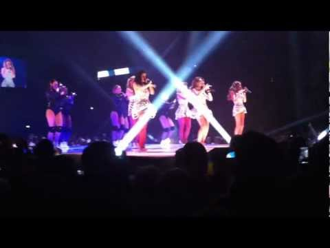 GIrls Aloud - On The Metro (live at the O2 Arena)