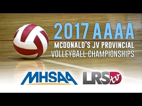 2017 AAAA McDonald's JV Provincial Volleyball Championships