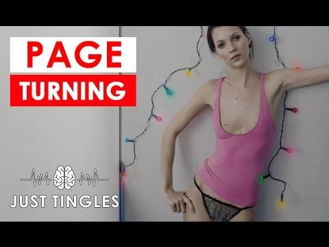 ASMR | Slow Page Turning | Fashion Magazine | NO TALKING | Tascam