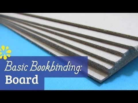 Bookbinding Cover Board