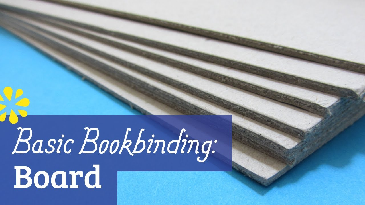 Book Cover Drawing Board ~ Bookbinding cover board youtube