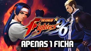 Jogando The king of fighters 96 apenas com 1 ficha. Nostalgia. Segu...
