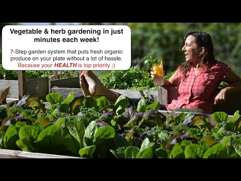 [Special! - Limited Time Viewing] - Growing organic vegetables & herbs in minutes each week