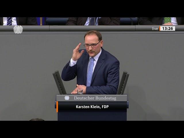 Karsten Klein, FDP: Schuldenbremse ist eine Frage der Generationengerechtigkeit (12.12.2019)
