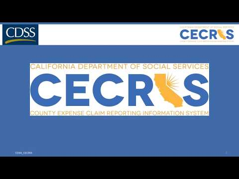 CECRIS Portal CA800 Upload County User Video 3:  Assistance Claim File Upload