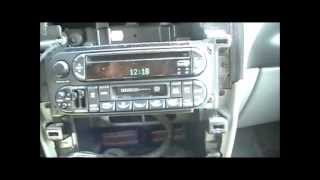 How to connect and iPod iPhone interface to a Chrysler town and country Dodge Caravan