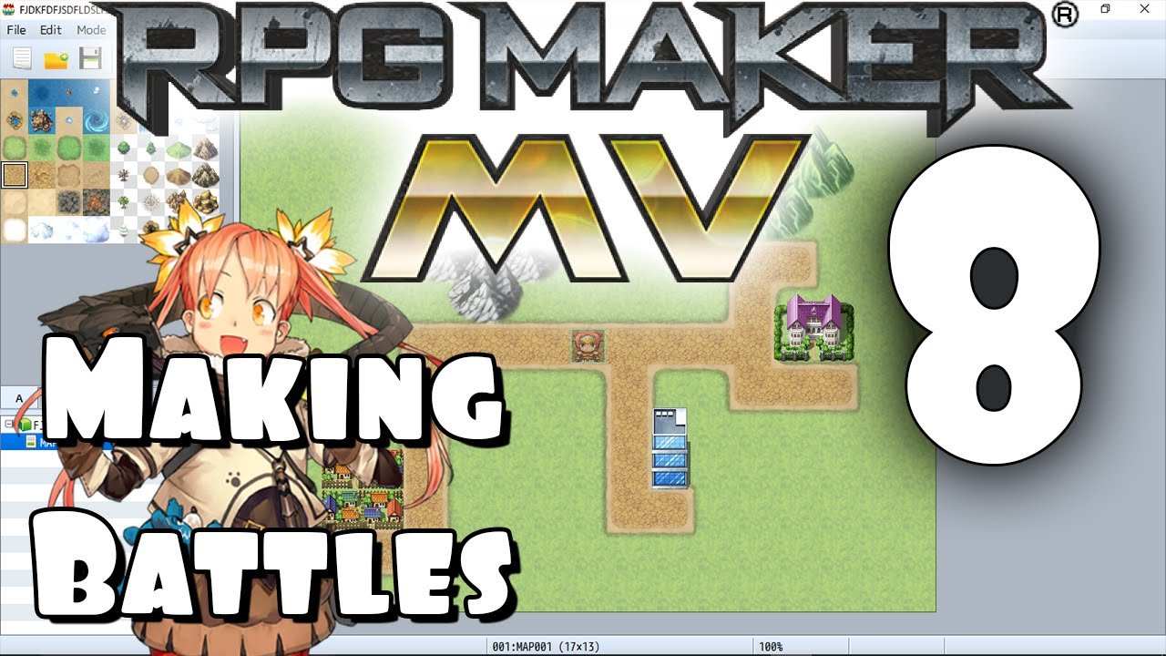 RPG Maker MV Tutorial #8 - Making Battles
