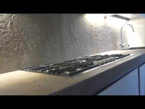 morosin ceramiche-progettazione top cucina - youtube - Top Cucina In Resina