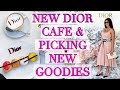 Shopping at Dior & New Dior Cafe in Miami - Picking New Goodies!