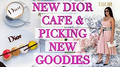 Shopping at Dior & New Dior Cafe in Miami - Picking New Goodies! Ericas Girly World
