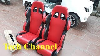 Nothing can be more beautiful - Seat set for homemade cars