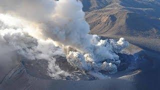 Sakurajima volcano in SW Japan erupts