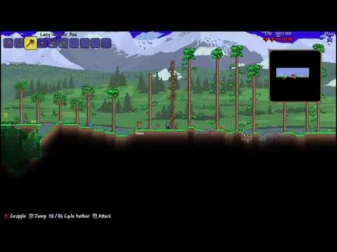 Terraria 50 Man Boss Rush: Eye of Cthulhu - YouTube