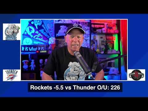 Houston Rockets vs Oklahoma City Thunder 8/31/20 Free NBA Pick and Prediction NBA Betting Tips